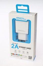 Acl Micro Usb Sarj Aleti 2a Süper Hizli 1 Metre Kablo