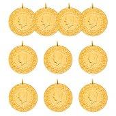 10 Yeni Tarihli Çeyrek Altın