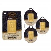 5,5 Gr (2,5+1+1+1) Külçe Altın IAR 24 Ayar
