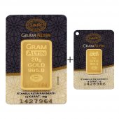 25 Gram (20+5)  Külçe Altın   24 Ayar