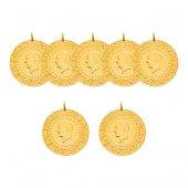 7 Yeni Tarihli Çeyrek Altın