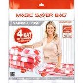 Magic Saver Bag 2li Jumbo Vakumlu Hurç Poşet Seti