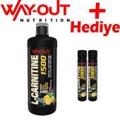 Way-Out L-Carnitine 1500 mg 1000 ml Yağ Yakıcı - Karnitin