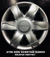Dacia 15 İnç Jant Kapağı Kelepçe Hediyeli 1.sınıf