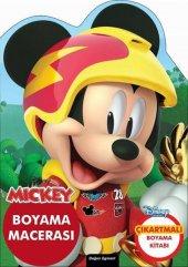 Mickey Özel Kesimli Boyama Macerası