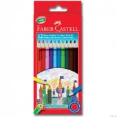 Faber Castell Kuru Boya Kalemi 12 Renk 116312