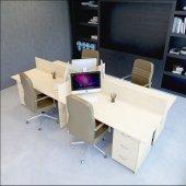 Vena Nil Workstation Dörtlü Çalışma Masa 320cm...