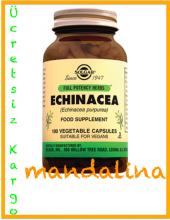 Solgar Echinacea (Ekinezya) 100 Kapsül Skt 08 2021