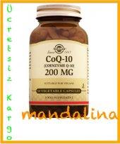SOLGAR Coenzyme Q 10 200 mg 30 Softgel (CoQ10) SKT:06/2020