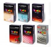 6 Çeşit Fiesta 12li Prezervatif (Kondom)