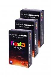 3 Adet Fiesta All Night Geciktiricili 12 Li Prezervatif Kondom