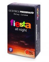 Fiesta All Night Geciktiricili 12 Li Prezervatif Kondom