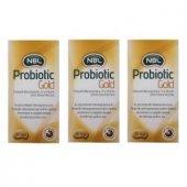 3 Adet Nbl Probiotic Gold 20 Saşe Gıda Takviyesi Skt 03 2020