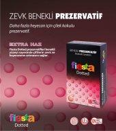 3 Adet Fiesta Dotted 12 li Benekli Prezervatif (Kondom)-3