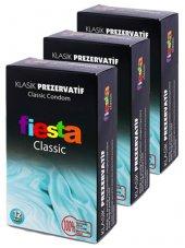 3 Adet Fiesta Klasik 12 Li Prezervatif (Kondom) Classic