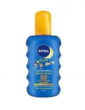 Nivea Sun Kids Nemlendirici Sprey Gkf 50+ 200ml. Renkli