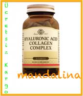 Solgar Hyaluronic Acid Collagen Complex 30 Tablet 05 2020