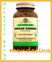 Solgar Korean Ginseng 50 Kapsül Skt 11 2020