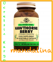 Solgar Hawthorne Berry (Alıç) 100 Kapsül Skt 03 2021