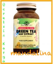 Solgar Green Tea Leaf Extract (Yeşil Çay) 60 Kapsül Skt 09 2020