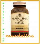 Solgar Alpha Lipoic Acid 600 Mg 50 Tablet Skt 03 2021