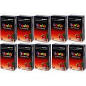 12 Adet Fiesta Strawberry Çilek Aromalı 12 Li Prezervatif Kondom