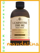 Solgar L Carnıtıne(Karnitin) 1500 Mg 473 Ml Skt 02 2020