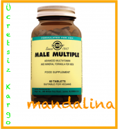 Solgar Male Multiple 60 Tablet Skt 05 2021