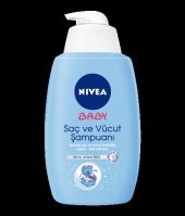 NIVEA BABY Saç ve Vücut Şampuanı 750 ml Ekonomik Boy