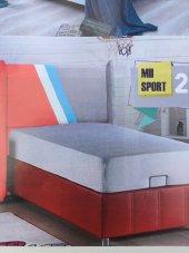 Bengi Alc Tek Kişi Baza Yatak Başlık Set Sport 90*190