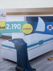 Bengi Alc Baza Yatak Başlık Set Yelkenli 90*190