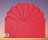 Bengi Alc Başlık Midye Kırmızı 90 Lık