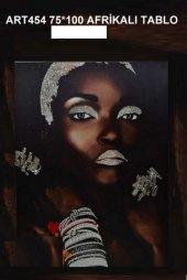 Art 454 Afrika Tablo Mazlum 75*100