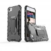 Edelfalke Apple iPhone 8 Klik Silikon Kılıf Siyah-3