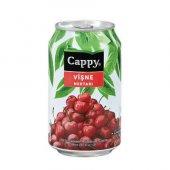 Cappy Vişne Nektarı Kutu Meyve Suyu 330ml (12 Li Koli)