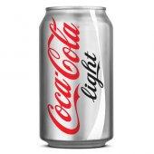 Coca Cola Light Kutu Kola 330ml (24 Lü Koli)