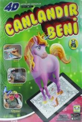 Artge Kids Magic Book Canlandır Beni 4d Boyama...