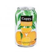 Cappy Portakal Nektarı Kutu Meyve Suyu 330ml (12 Li Koli)
