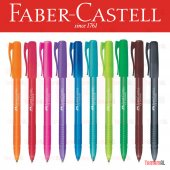 Faber Castell Renkli Tükenmez Kalem 10 Farklı...