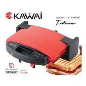 2000W Kawai Elektrikli IzgaraTost Makinesi-2