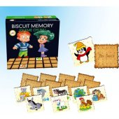 Biscuit Memory Eşleme Sevimli Hayvanlar 1604