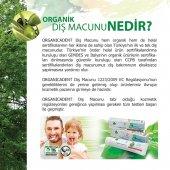 ORGANİK&HELAL SERTİFİKALI florürsüz 50ML DİŞ MACUNU 3LÜ PAKETİ-3