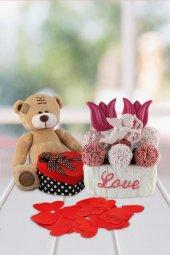Angemiel Ölümsüz Çiçek 365 Gün Ayıcıktan Aşk...