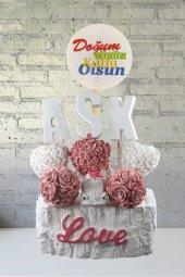 Angemiel Ölümsüz Çiçekler Güller İçinde Vosvos Aşk Doğum Günü Hediye Sepeti