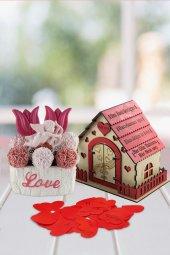 Angemiel Ölümsüz Çiçek Romantik Aşk Evinde...
