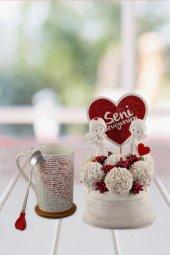Angemiel Ölümsüz Çiçek 100 Dilde Seni Seviyorum...