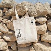 Angemiel Bag Deryadil Alışveriş Plaj Bez Çanta-2