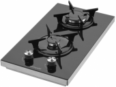 Eminçelik 41125 E Set Üstü Domino Cam Ocak Siyah