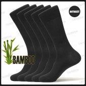 Calverton 5li Bambu Yazlık Erkek Çorap Düz Renk Desen