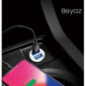 Baseus Mini Dual Usb 3.1a Max Çıkışlı Hızlı Araç Şarj Başlık-2